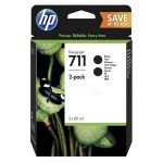 Tusz HP 711XL Black P2V31A Dwupack 2x80ml.