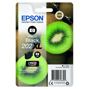 Tusz Epson 202XL Photo Black T02H1