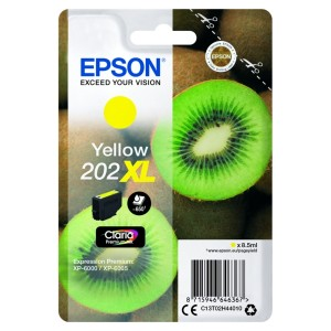 Tusz Epson 202XL Yellow T02H4