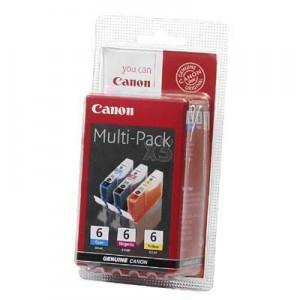 Zestaw tuszy Canon BCI-6 CMY Multipack
