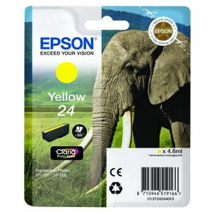 Tusz Epson 24 Yellow T2424